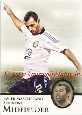 2013 - Futera World Football Unique - N° 046 - Javier MASCHERANO (Argentine) (Midfielder)