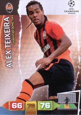 2011-12 - Panini Champions League Cards - N° 245 - Alex TEIXEIRA (Shakhtar Donetsk)