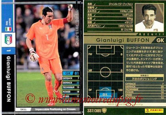 2013-14 - WCCF - N° 337 - Gianluigi BUFFON (Italie)