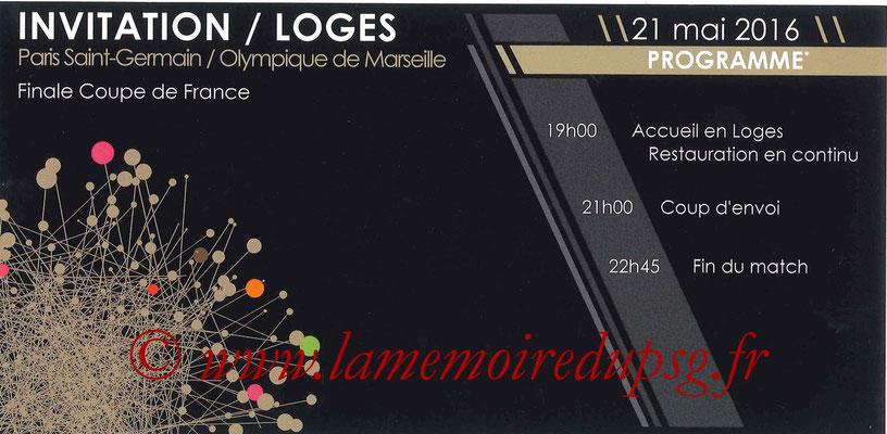 Tickets  PSG-Marseille  2015-16