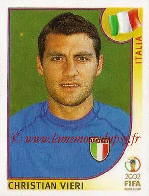 2002 - Panini FIFA World Cup Stickers - N° 473 - Christian VIERI (Italie)