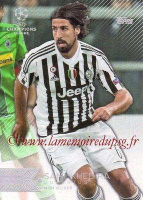 2015-16 - Topps UEFA Champions League Showcase Soccer - N° 083 - Sami KHEDIRA (Juventus FC)