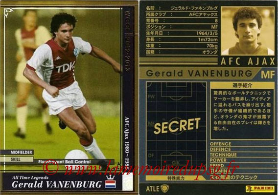 2012-13 - WCCF - N° ATLE06 - Gerald VANENBURG (AFC Ajax) (All-Time Legend)