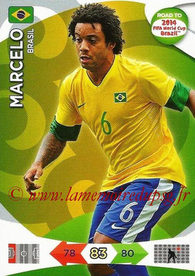 2014 - Panini Road to FIFA World Cup Brazil Adrenalyn XL - N° 017 - MARCELO (Brésil)