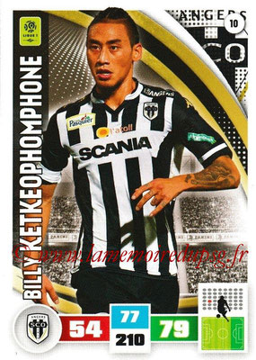 2016-17 - Panini Adrenalyn XL Ligue 1 - N° 010 - Billy KETKEOPHOMPHONE (Angers)