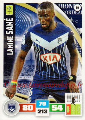 2016-17 - Panini Adrenalyn XL Ligue 1 - N° 039 - Lamine SANE (Bordeaux)