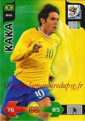 2010 - Panini FIFA World Cup South Africa Adrenalyn XL - N° 044 - KAKA (Bresil)