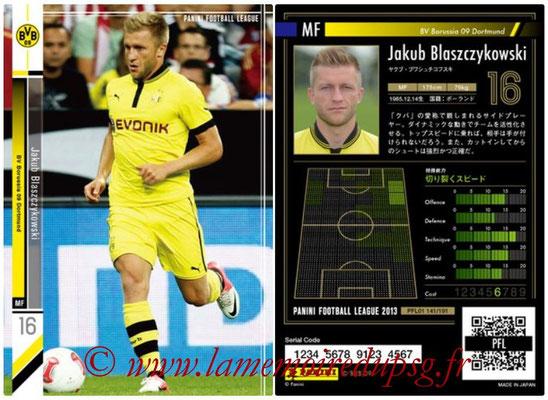 Panini Football League 2013 - PFL01 - N° 141 - Jakub Blaszczykowski ( BV Borussia 09 Dortmund )