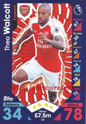 2016-17 - Topps Match Attax Premier League - N° 036
