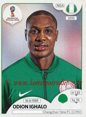 2018 - Panini FIFA World Cup Russia Stickers - N° 349 - Odion IGHALO (Nigeria)