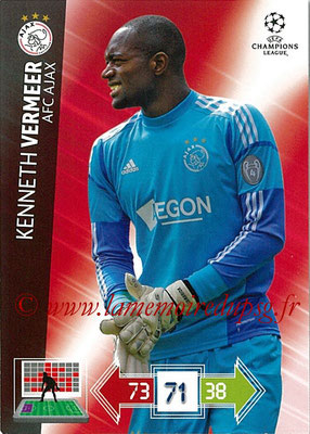 2012-13 - Adrenalyn XL champions League N° 001 - Kenneth VERMEER (AFC Ajax)
