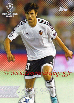 2015-16 - Topps UEFA Champions League Showcase Soccer - N° 199 - André GOMES (FC Valence)