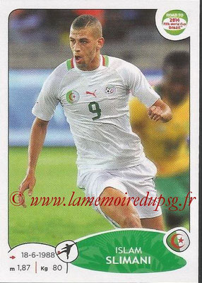 2014 - Panini Road to FIFA World Cup Brazil Stickers - N° 380 - Islam SLIMANI (Algérie)