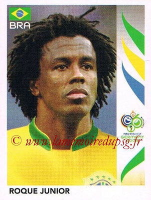 2006 - Panini FIFA World Cup Germany Stickers - N° 386 - Roque JUNIOR (Brésil)