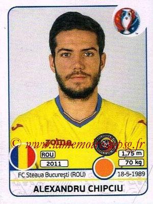 Panini Euro 2016 Stickers - N° 061 - Alexandru CHIPCIU (Roumanie)
