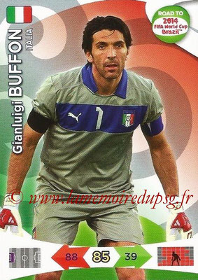 2014 - Panini Road to FIFA World Cup Brazil Adrenalyn XL - N° 118 - Gianluigi BUFFON (Italie)