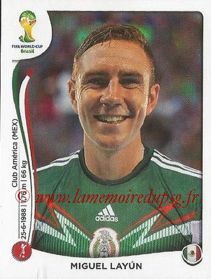 2014 - Panini FIFA World Cup Brazil Stickers - N° 076 - Miguel LAYUN (Mexique)