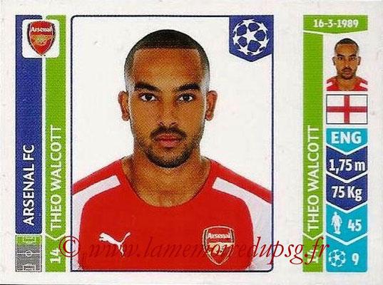 2014-15 - Panini Champions League N° 270 - Theo WALCOTT (Arsenal FC)