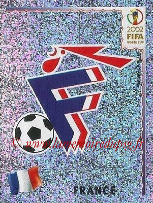 2002 - Panini FIFA World Cup Stickers - N° 026 - Ecusson France