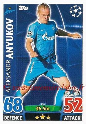 2015-16 - Topps UEFA Champions League Match Attax - N° 254 - Aleksandr ANYUKOV (FC Zenit)