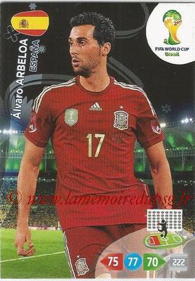 2014 - Panini FIFA World Cup Brazil Adrenalyn XL - N° 144 - Alvaro ARBELOA (Espagne)