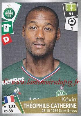 2017-18 - Panini Ligue 1 Stickers - N° 424 - Kévin THEOPHILE-CATHERINE (Saint-Etienne)
