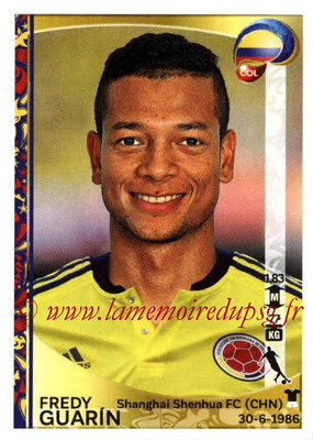 Panini Copa America Centenario USA 2016 Stickers - N° 051 - Freddy GUARIN (Colombie)