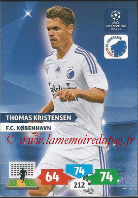 2013-14 - Adrenalyn XL champions League N° 158 - Thomas KRISTENSEN (FC Kobenhavn)