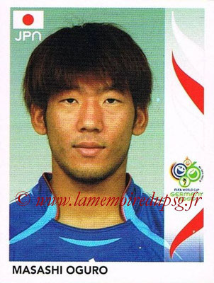 2006 - Panini FIFA World Cup Germany Stickers - N° 449 - Masashi OGURO (Japon)