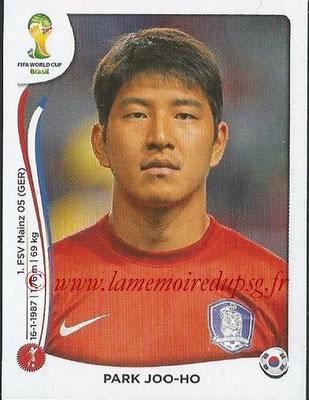 2014 - Panini FIFA World Cup Brazil Stickers - N° 627 - Park JOO-HO (Corée du Sud)