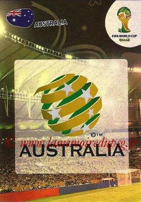 2014 - Panini FIFA World Cup Brazil Adrenalyn XL - N° 019 - Logo Australie