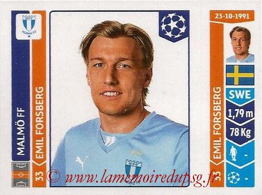 2014-15 - Panini Champions League N° 099 - Emil FORSBERG (Malmö FF)