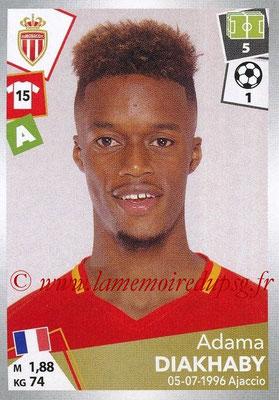 2017-18 - Panini Ligue 1 Stickers - N° 277 - Adama DIAKHABY (Monaco)