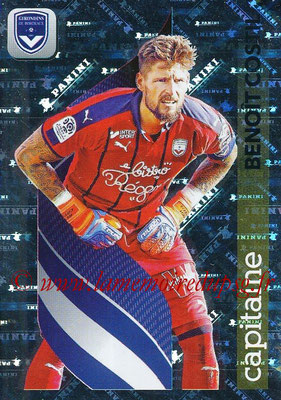 2018-19 - Panini Ligue 1 Stickers - N° 072 - Benoît COSTIL (Bordeaux) (Capitaine)