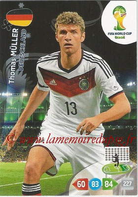 2014 - Panini FIFA World Cup Brazil Adrenalyn XL - N° 114 - Thomas MULLER (Allemagne)