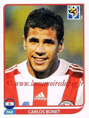 2010 - Panini FIFA World Cup South Africa Stickers - N° 438 - Carlos BONET (Paraguay)
