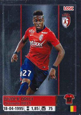 2014-15 - Panini Ligue 1 Stickers - N° 167 - Divock ORIGI (Lille OSC)