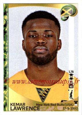 Panini Copa America Centenario USA 2016 Stickers - N° 260 - Kemar LAWRENCE (Jamaïque)