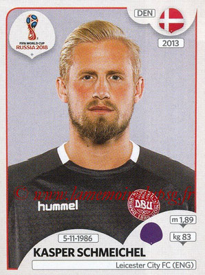2018 - Panini FIFA World Cup Russia Stickers - N° 254 - Kasper SCHMEICHEL (Danemark)