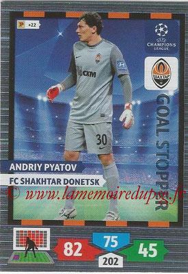 2013-14 - Adrenalyn XL champions League N° 333 - Andriy PYATOV (FC Shakhtar Donetsk) (Goal Stopper)