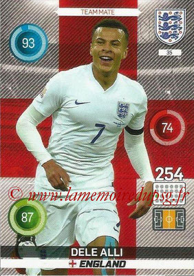 Panini England 2016 Adrenalyn XL - N° 035