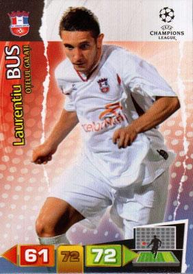 2011-12 - Panini Champions League Cards - N° 210 - Laurentiu BUS (FC Otelul Galati)