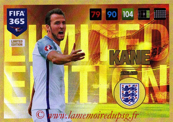 2016-17 - Panini Adrenalyn XL FIFA 365 - N° LE54 - Harry KANE (Angleterre) (Limited Edition)