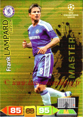 2011-12 - Panini Champions League Cards - N° 333 - Frank LAMPARD (Chelsea FC) (Master)