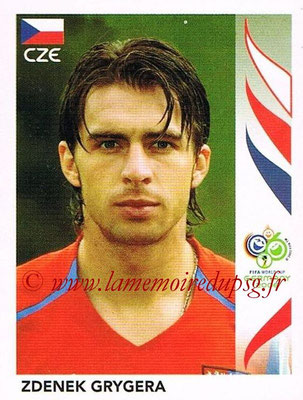 2006 - Panini FIFA World Cup Germany Stickers - N° 362 - Zdenek GRYGERA (République Tchèque)