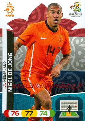 Panini Euro 2012 Cards Adrenalyn XL - N° 140 - Nigel DE JONG (Pays-Bas)