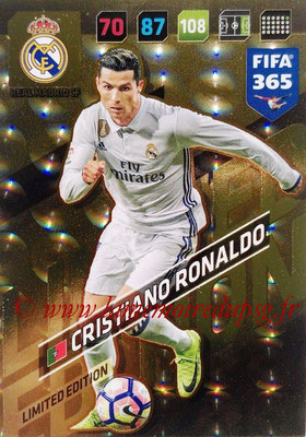 2017-18 - Panini FIFA 365 Cards - N° LE-CR - Cristiano RONALDO (Real Madric CF) (Limited Edition)