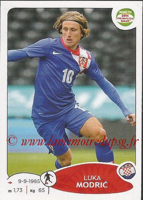2014 - Panini Road to FIFA World Cup Brazil Stickers - N° 291 - Luka MODRIC (Croatie)
