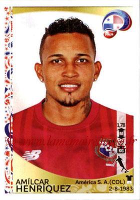 Panini Copa America Centenario USA 2016 Stickers - N° 363 - Amilcar HENRIQUEZ (Panama)