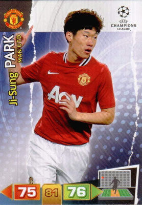 2011-12 - Panini Champions League Cards - N° 148 - Ji-Sung PARK (Manchester United FC)